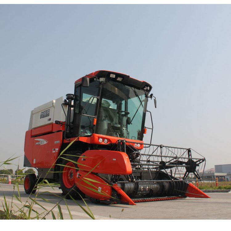 4LZ-5(PRO100) Used Machine KubotaFull Feeding Wheel Rice Harvester