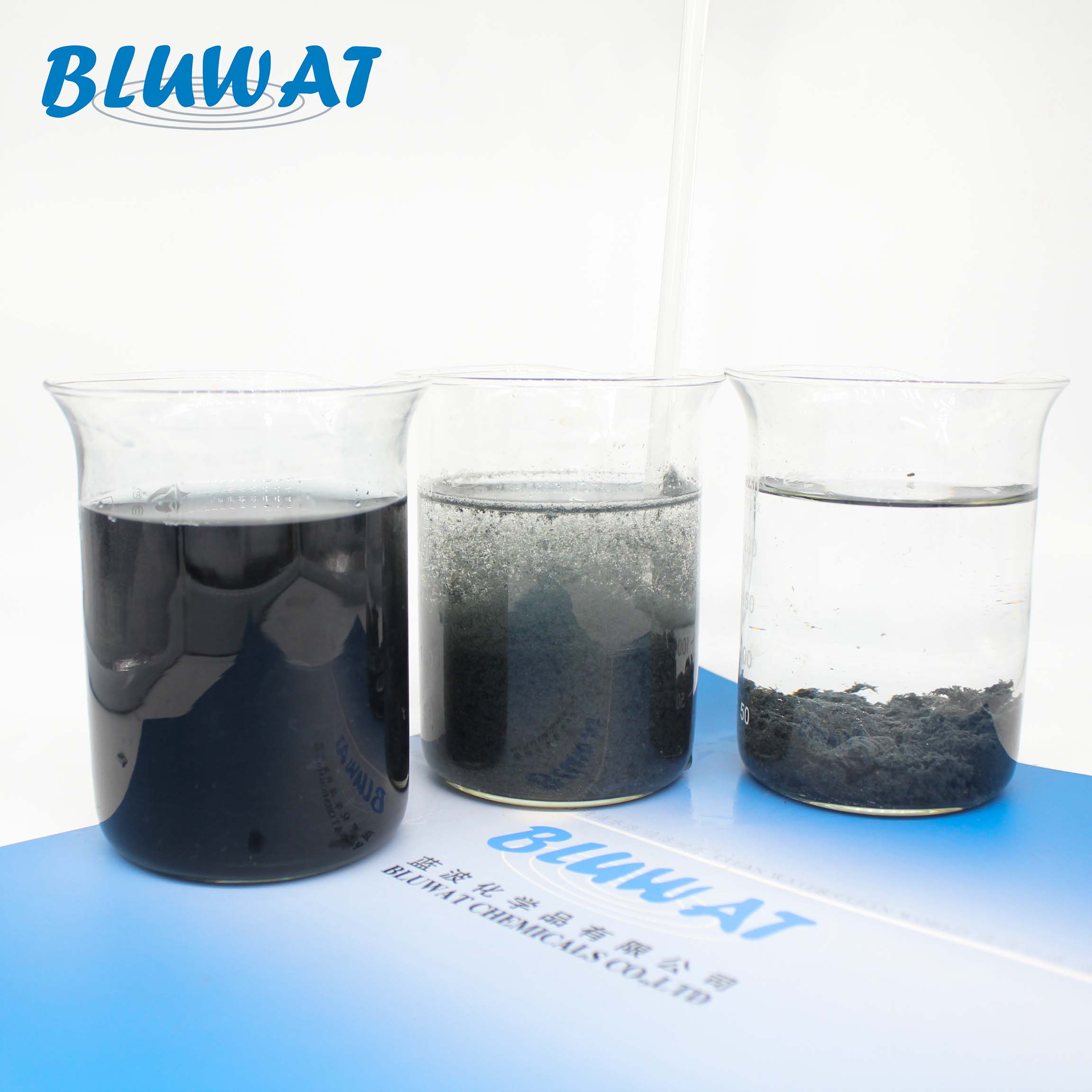 BWG Microorganism Wastewater Treatment Bacteria Water Cleaning Chemicals Black Powder Chemical Auxiliary Agent ISO9001 Bluwat