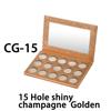 CG-15, 15 Hole shiny champagne  Golden