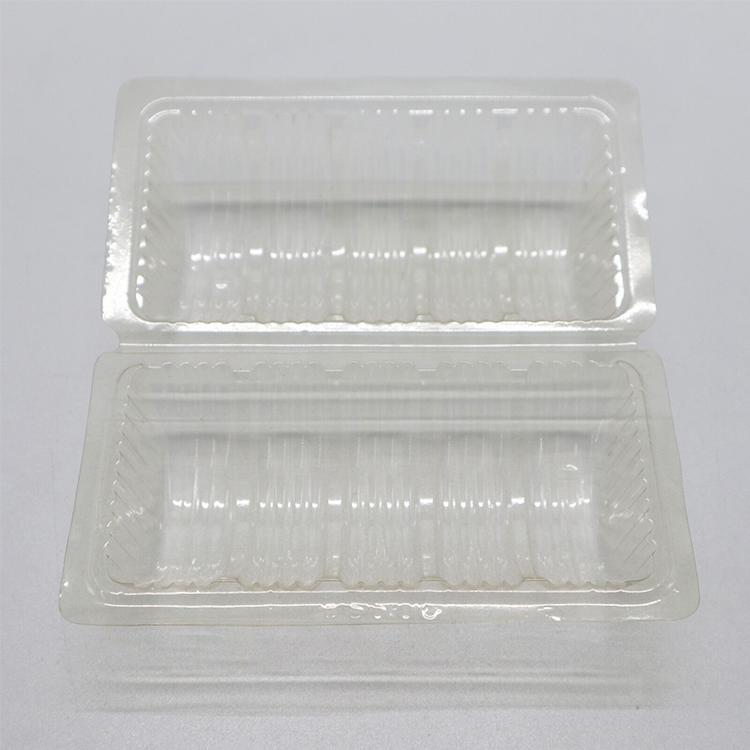 Custom Transparent PET Blister Baking Packaging Plastic Biscuit Container Packaging Box Of Cookie