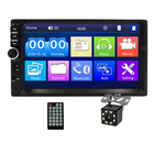 Factory Offer 7 Inch Touch Screen Double DIN Music Player, 2 Din Video Stereo, Autoradio Car MP5 Player 7018B