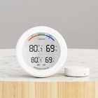 433mhz Wireless Digital Audible Alarm Indoor   Outdoor Thermometer with Wireless Temperature Sensors