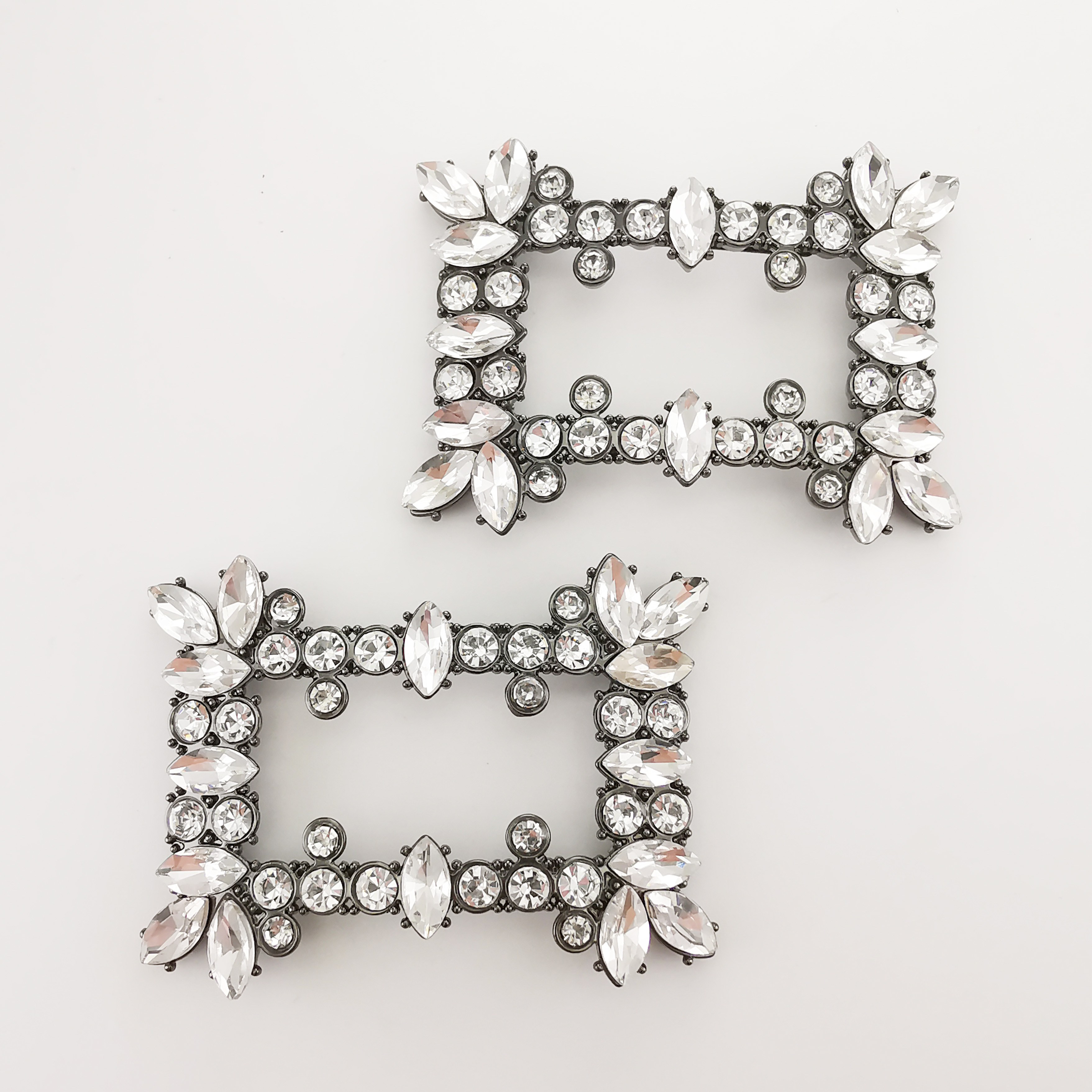 crystal stone rhinestone  shoe  buckle  decoration