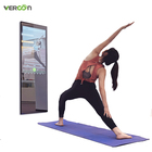 Fitness Gym Equipment New Hot Sale Product Intelligent Mirror Display DC Motor Smart Mirror Body Fitness Gym Equipment