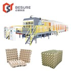 Packing Machine Egg Paper Trays Machinery Recycled Paper Carton Box Packing Machine For Egg Tray/egg Carton