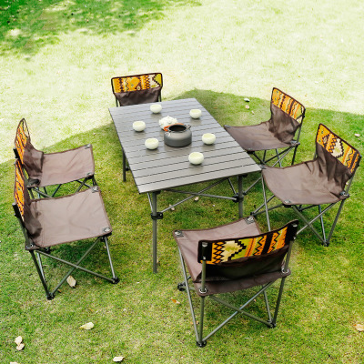 Outdoor Folding Table And Chair Set Portable Picnic Table 7 Sets Of Wild Self Driving Leisure Table And Chairs Buy Outdoor Folding Table And Chair Set Portable Picnic Table Leisure Table And Chairs Product