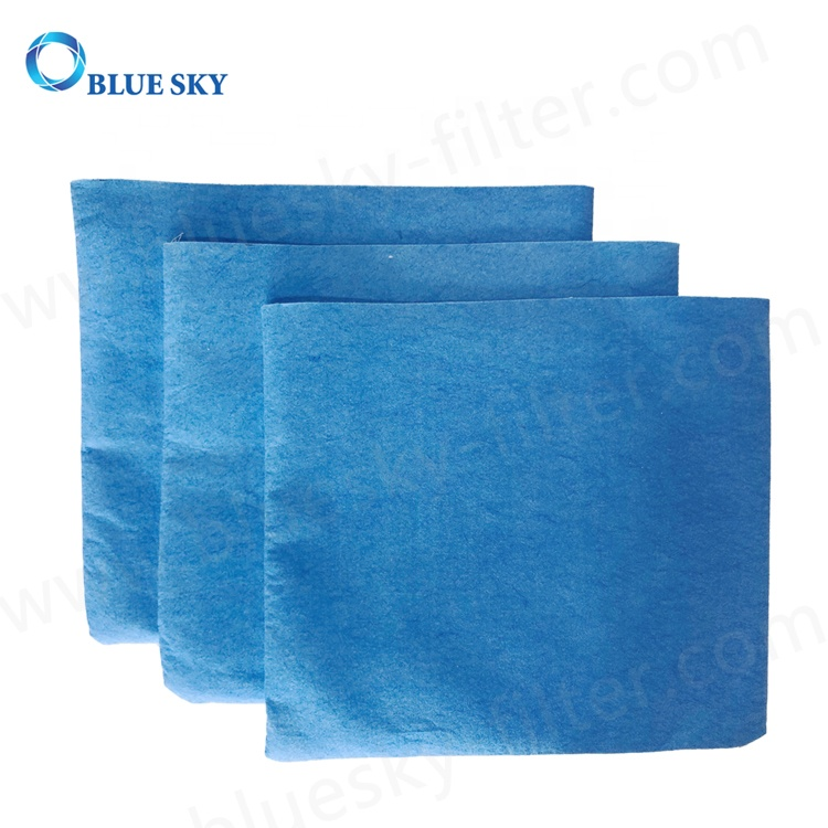 Reusable Blue Cloth Dry Dust Filter Bags for Stanley 25-1217 1-5 Gallon Wet/Dry Vacuum Cleaners