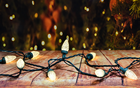 Decorative String Light String Outdoor Outdoor C9/C7Christmas Decorative Commercial String Light