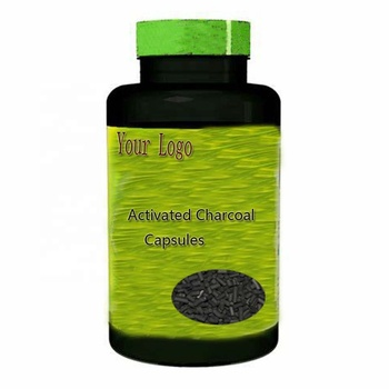 Best Price Promote Kidney Health Reduce Cholesterol Levels Activated Charcoal Capsules