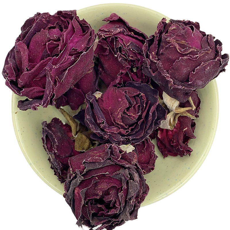 0188 mo hong mei gui Dried Red Rose Petals Rose Bud Tea Chinese Herbal Rose Flower Tea - 4uTea | 4uTea.com