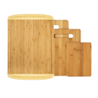 Premium Bamboo Cutting Board Set of 4 - Eco-Friendly bamboo Chopping Boards