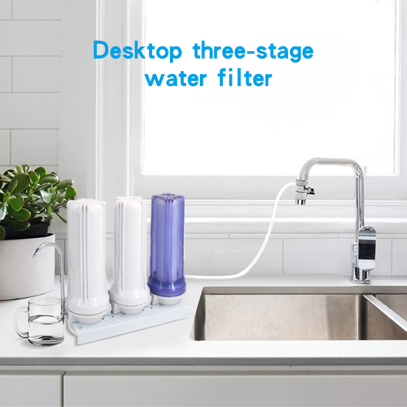 3 Stage Counter Tap Water Filter Under Sink Filter Purifier Water Filters For Home