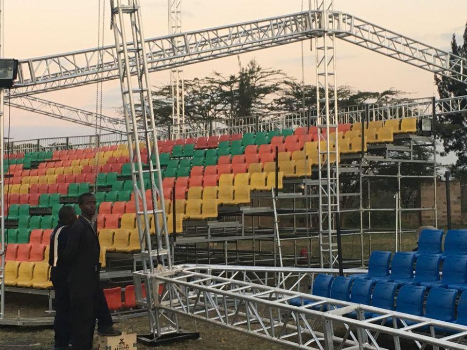 Подвижный стадион трибуны для футбольного стадиона трибуна для продажи grandstand