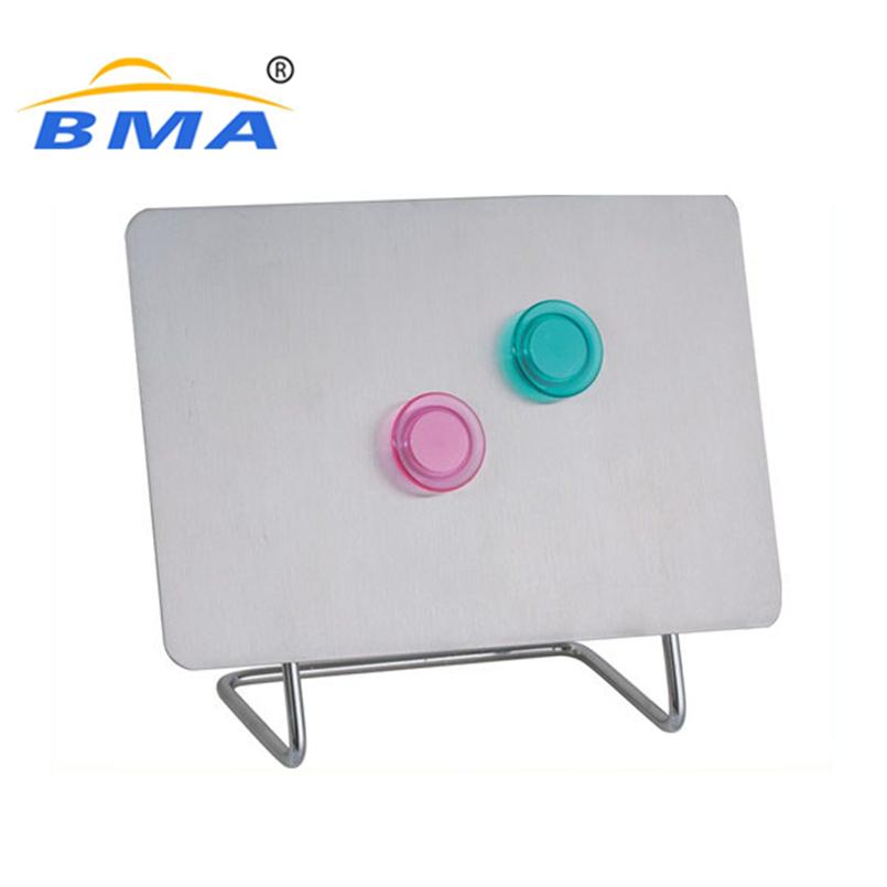 Purple metal notice board, decorative memo board, memo board with hooks - Yola WhiteBoard | szyola.net