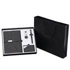 Corporate 5 In 1 Business Kit Best Selling Corporate Gifts Customized Logo Promotional Corporate Luxury Gift Set/