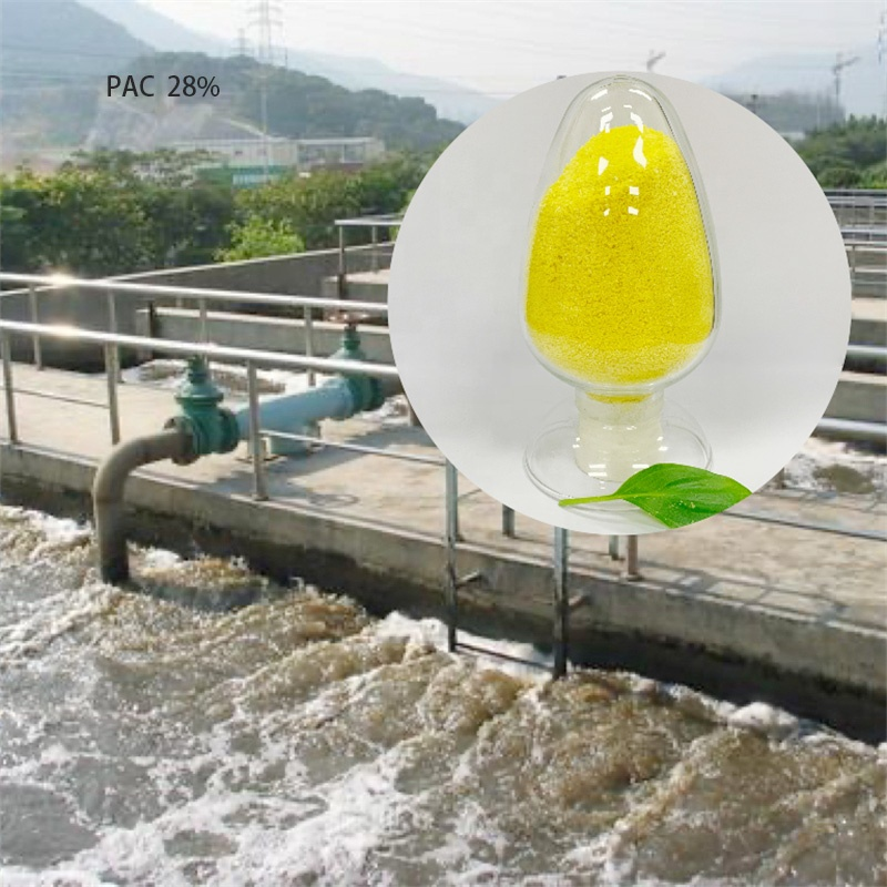 High quality powder polyaluminium chloride PAC Water treatment chemicals