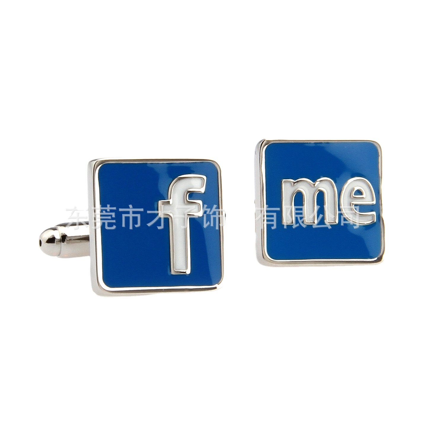 Personalized Acrylic Cufflinks  Custom Letter and Date Engraved