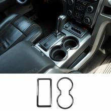 Наклейки из углеродного волокна SHINEKA для Ford F150, украшение интерьера автомобиля, аксессуары для Ford F150 Raptor 2009-2014, Стайлинг автомобиля(Китай)