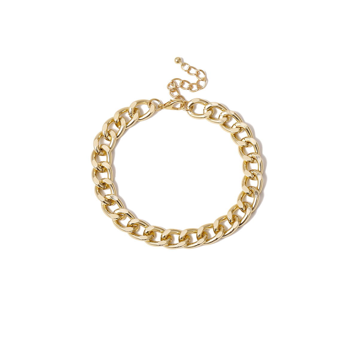 Punk Gold Thick Anklet Cuban Link Chain Anklets For Women Sexy Chunky Ankle Bracelet Leg Chain Beach Foot Jewelry