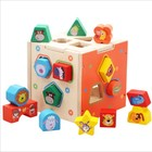 New Kid wooden Block Carton Multifunctional Educational Toy for preschool child playing