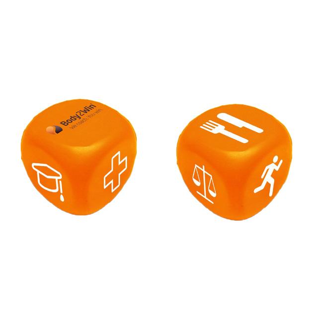 Промо 5 см кости формы ПУ анти-стресс мяч, способный преодолевать Броды для взрослых, игрушка для снятия стресса и детские игрушки