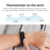 2 in 1 Wireless Bluetooth Headset Smart Bracelet with Body Temperature Monitoring Function