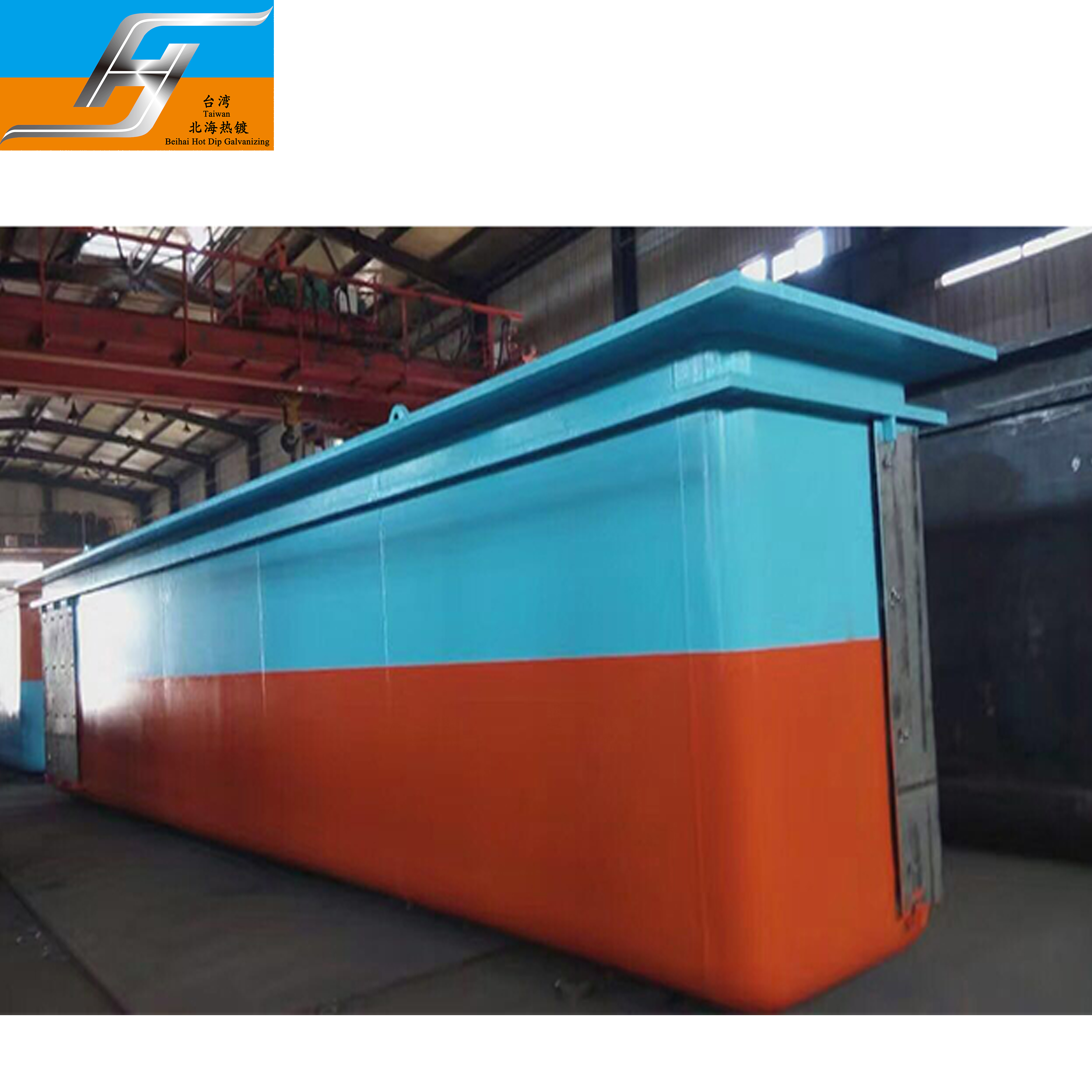 Hot dip galvanizing line equipment furnace with automatic combustion system