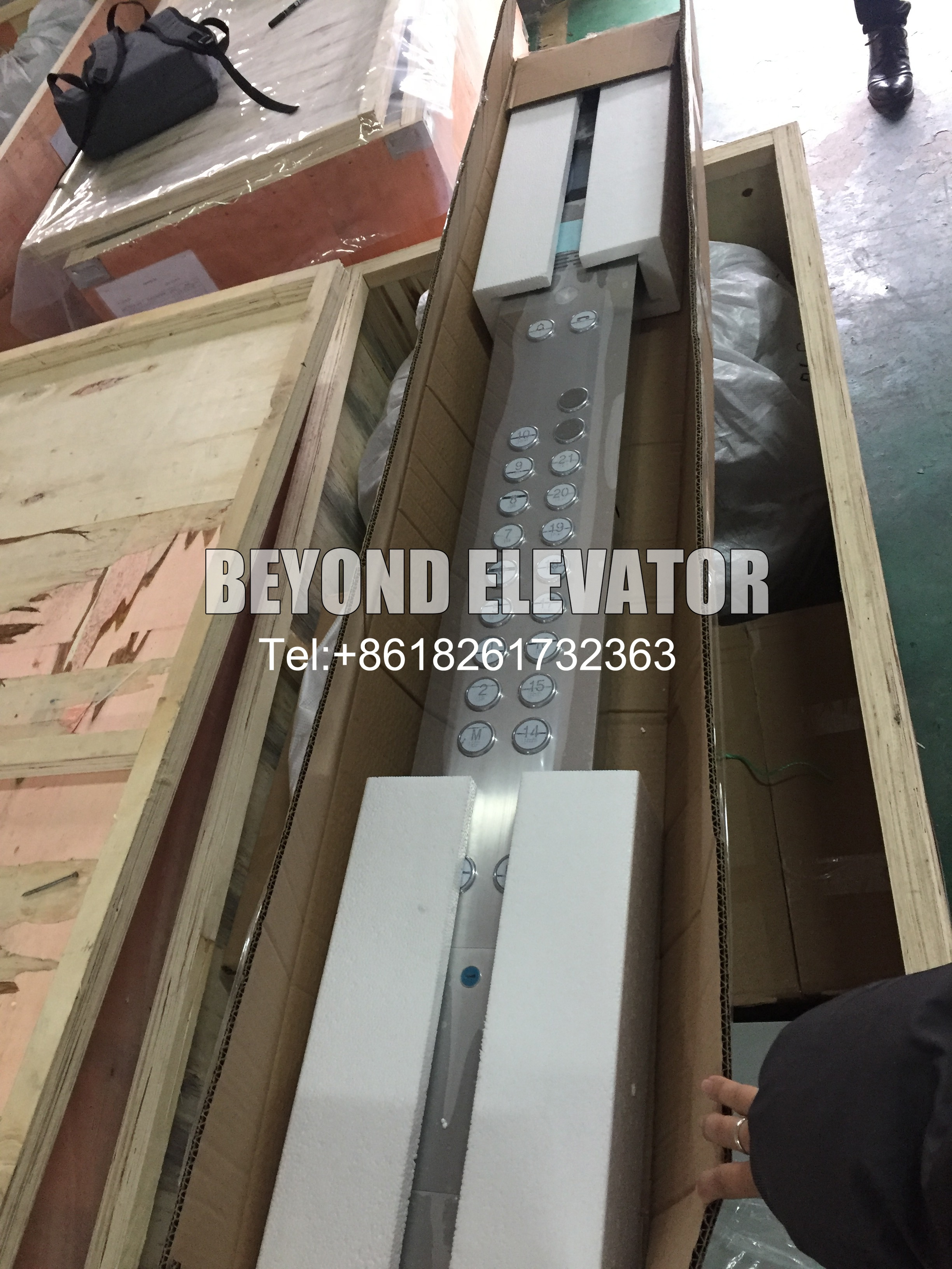 Elevator COP call operation panel/ push button panel/ LOP /stainless hairline/lift keypad