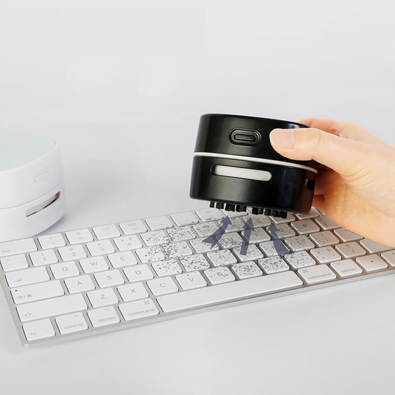 Бытовой портативный настольный мини-пылесос с беспроводной зарядкой