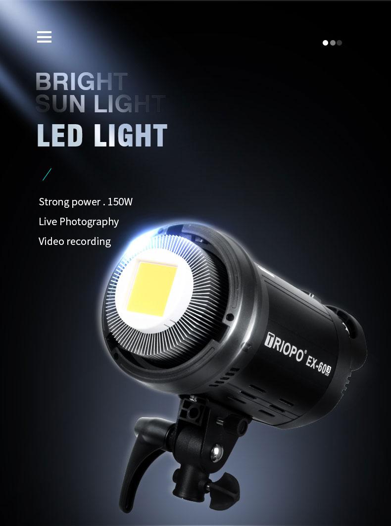 Рекомендуемое студийное Наружное освещение стробоскопическая вспышка для фотосъемки