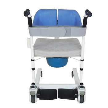 Updated Version Bedside Commodes Disabled Multifunction Chair Wheeled Shower Chair Bath Easy to Clean