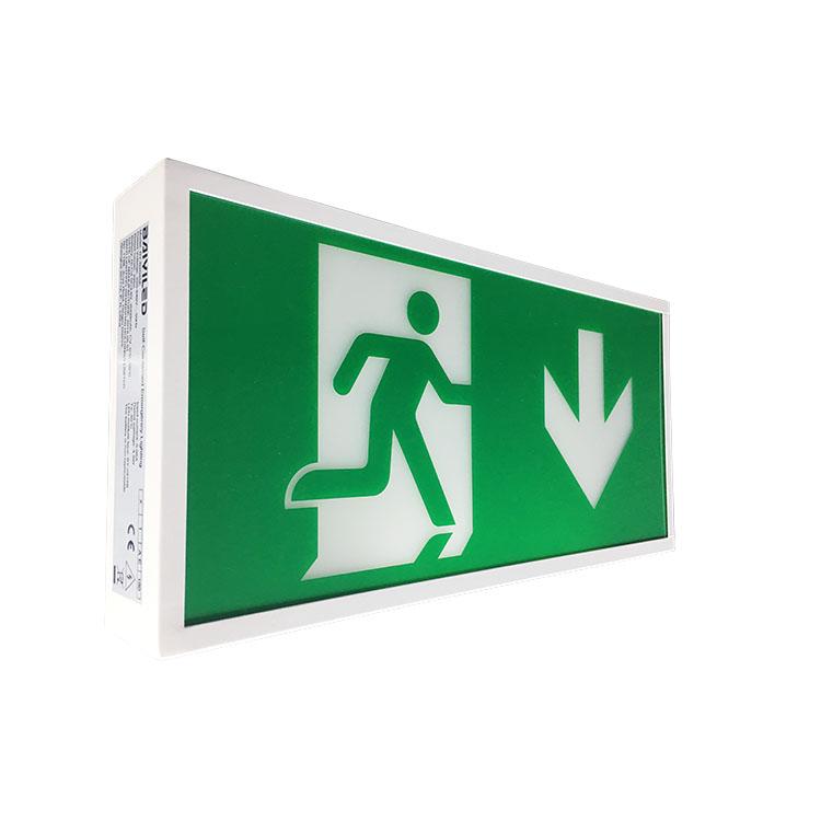 Wholesale automatic waterproof Export ABS housing fire retardant emergency light