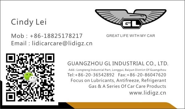 GL High efficient 250ml DOT3 brake oil for dubai