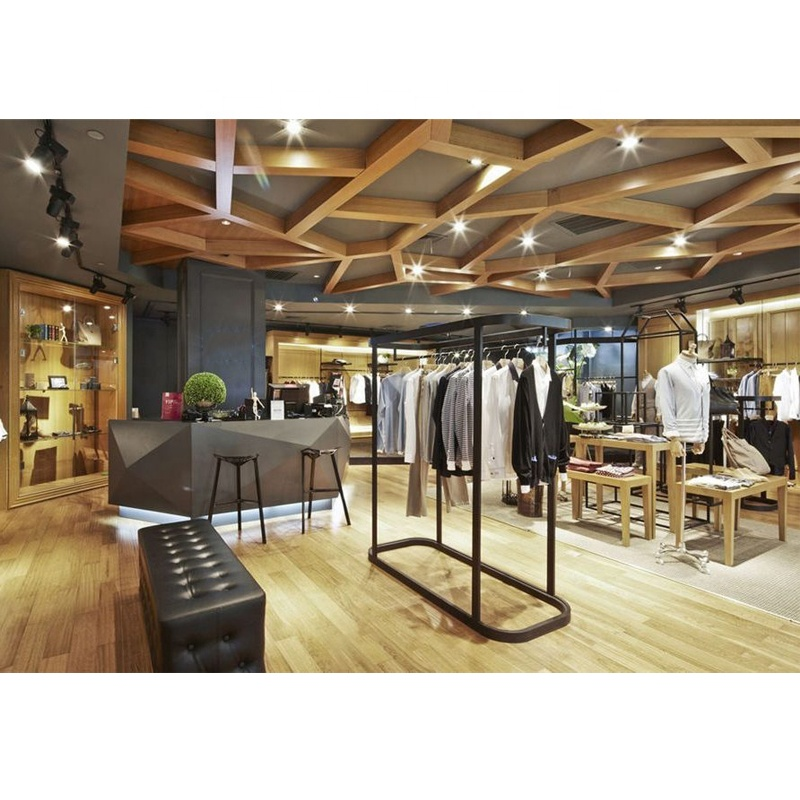 Modern Style Men Suit Clothing Store Interior Design And Clothing Store Furniture View Men Suit Clothing Store Interior Design Lux Product Details From Lux Design Construction Limited On Alibaba Com