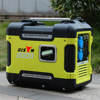 BISON Verified Generators Eu 2000 I Ready To Ship Suitcase 2Kw Portable Gasoline Inverter Generator