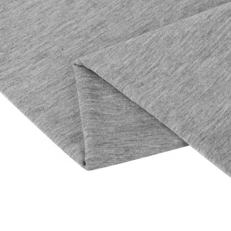 65%Polyester 35% Cotton Knitted Single Jersey Fabric For T-shirt And Home Dress