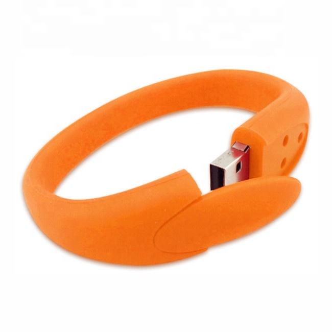 Promotional giveaway gift wristband USB Flash Drives pendrive 32Gb USB Bracelet memory stick - USBSKY | USBSKY.NET