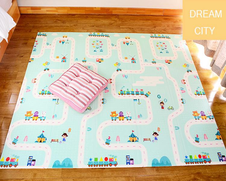 Развивающий мягкий Детский напольный игровой коврик, коврик из пенопласта для игр, большой игровой коврик из пены