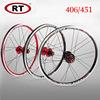451-Black red-Pair