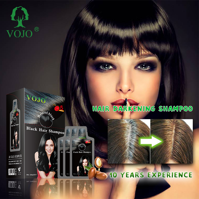 VOJO Manufacturers  hair dye colours coffee  Easy Wash Herbal nature fast  black hair shampoo no side effect  head cream
