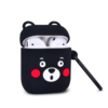 17.black bear silicone case for airpod 2 1