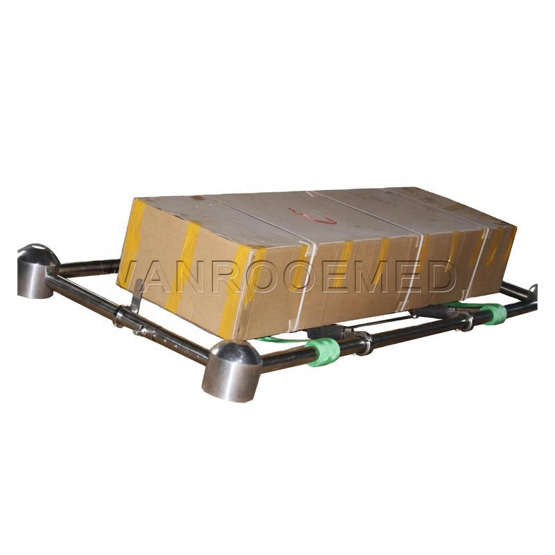 GA002 Funeral Product Coffin Casket Lowering Device With Placer Arms
