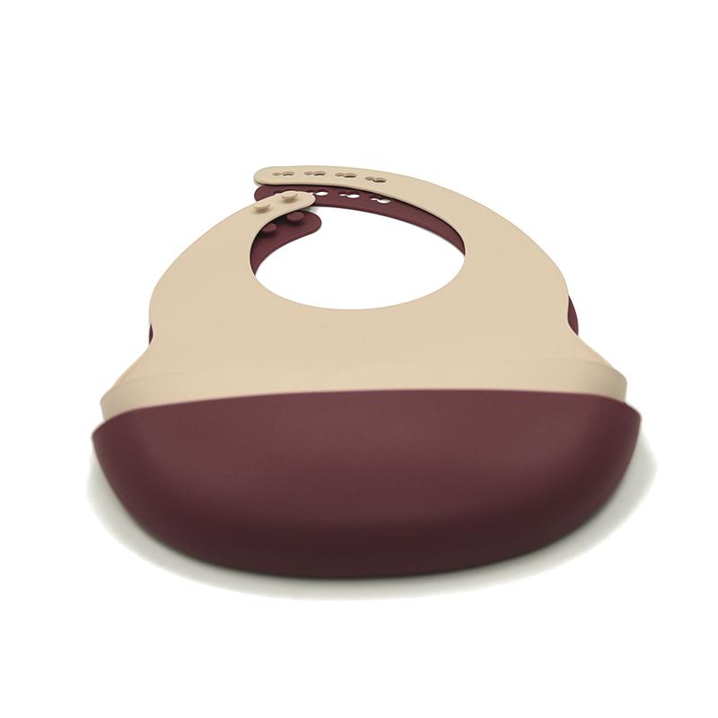 Симпатичный силиконовый детский нагрудник с логотипом на заказ, без БФА, силиконовый нагрудник с авокадо