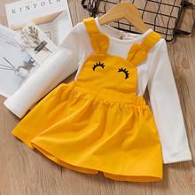 Menoea комплект одежды для новорожденных девочек, осень 2020, новый стиль, Детский костюм с кроличьими ушками, одежда для девочек(Китай)