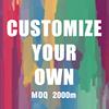 Customize MOQ 2000m