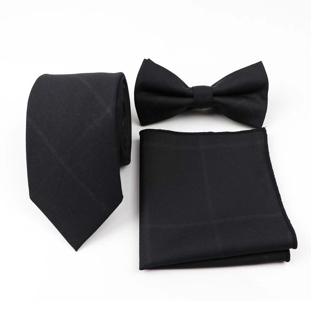 3 шт. мужской галстук-бабочка нагрудный платок свадебное платье костюмы галстук-бабочка платок комплектов/партия