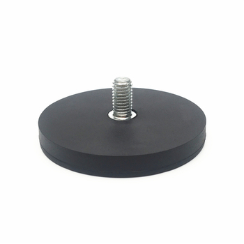 magnetic base holder magnets with rubber coated D66mm
