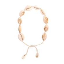 Креативное натуральное модное женское колье ручной работы с ракушками, цепочка на щиколотке, Пляжное ювелирное изделие, подарок(Китай)