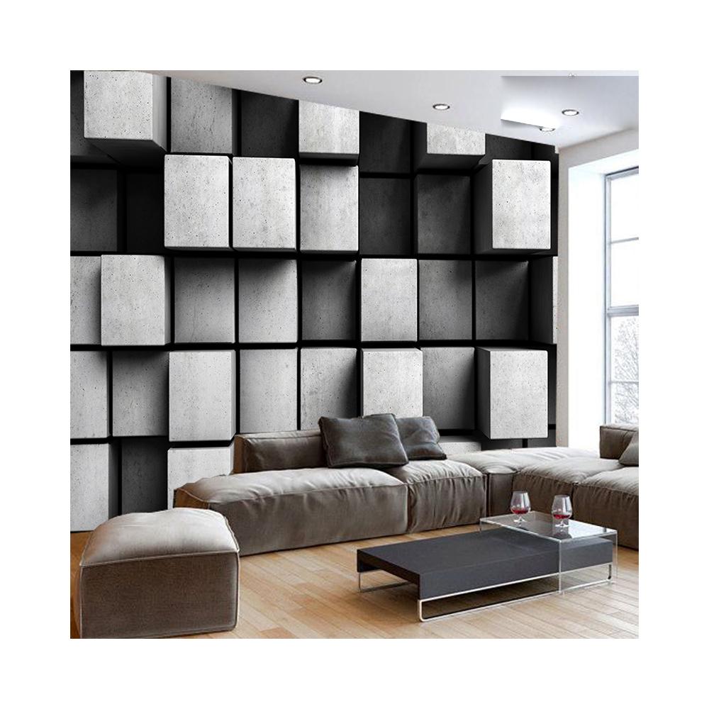 Высококачественный интерьер кирпичная стена дизайн комнаты Декор дети 3d тканевые наклейки настенный плакат