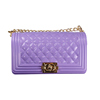 glossy violet